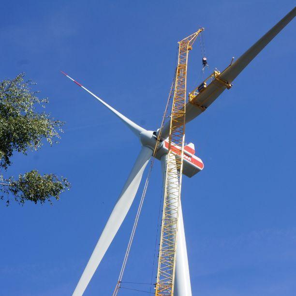 Windpark Höcherberg erfolgreich errichtet